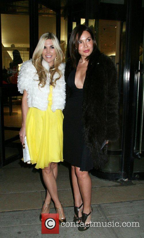 Tinsley Mortimer and Fabiola Versace Men's Line Launch...