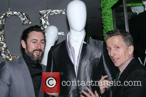 Alan Cumming and Simon Doonan Versace Men's Line...