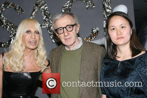 Donatella Versace, Versace and Woody Allen 3