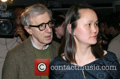 Woody Allen and wife Soon-Yi Previn Versace Men's...