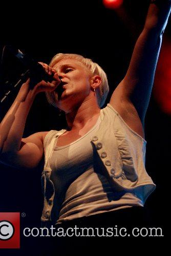 Robyn performs at V Festival 2007 at Weston...