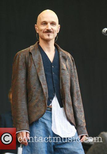 James performs at V Festival 2007 at Weston...