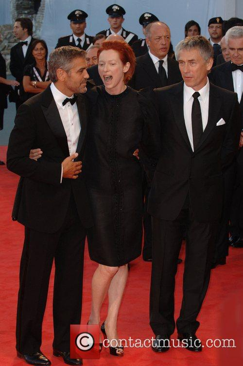 George Clooney and Tilda Swinton 8