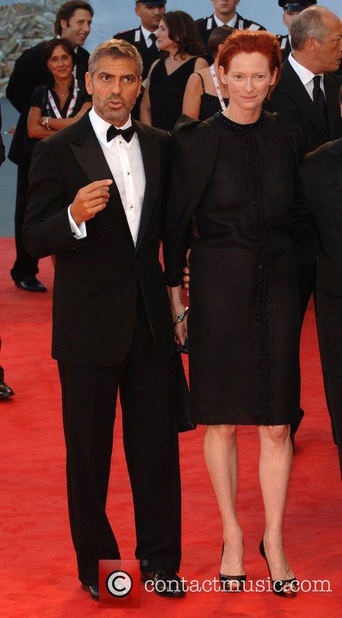 George Clooney and Tilda Swinton 6