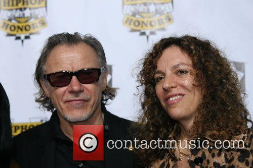 Harvey Keitel and wife VH1 Hip Hop Honors...