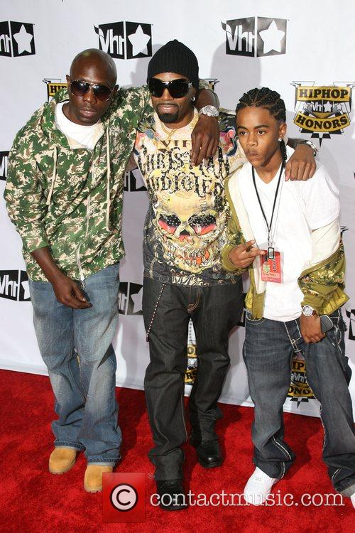 Guests VH1 Hip Hop Honors 2007 at Hammerstein...