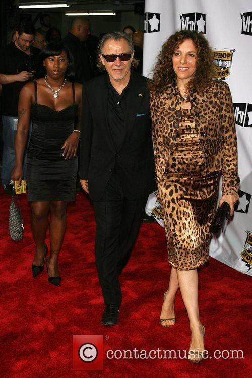 Leslie, Harvey Keitel and Daphna Keitel VH1 Hip...