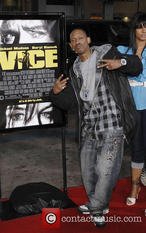Kurupt Attends the Premiere of 'Vice' held at...