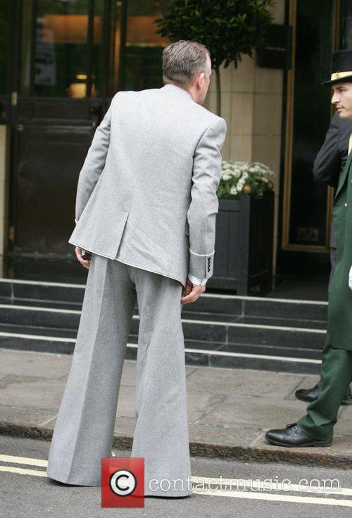 Victoria Beckham's driver wearing a similar pair of...