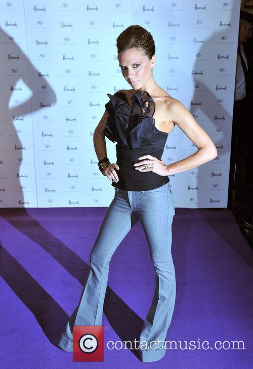 Victoria Beckham  promotes her new dVb collection...