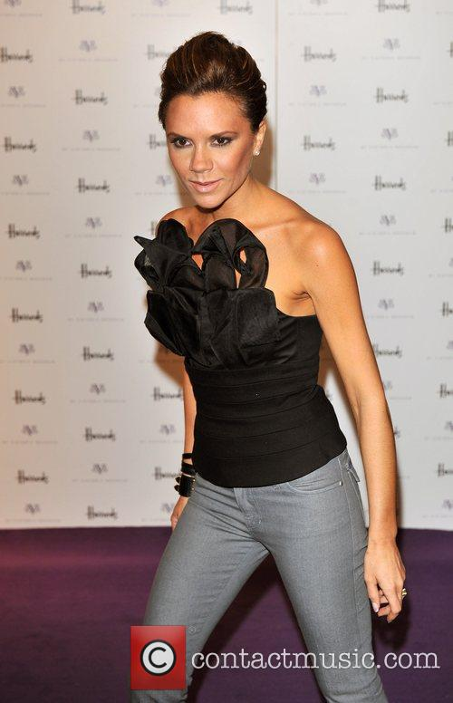 Promotes her new dVb collection at Harrods