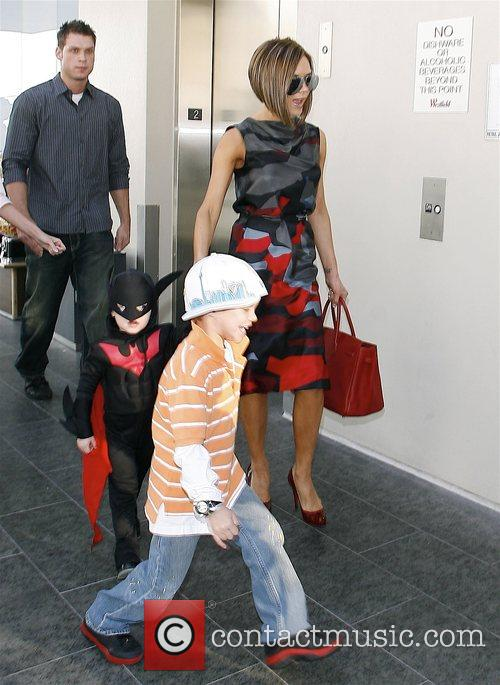 Victoria Beckham and Batman 10