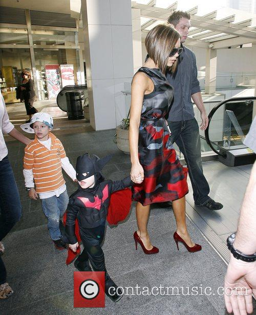 Victoria Beckham and Batman 5