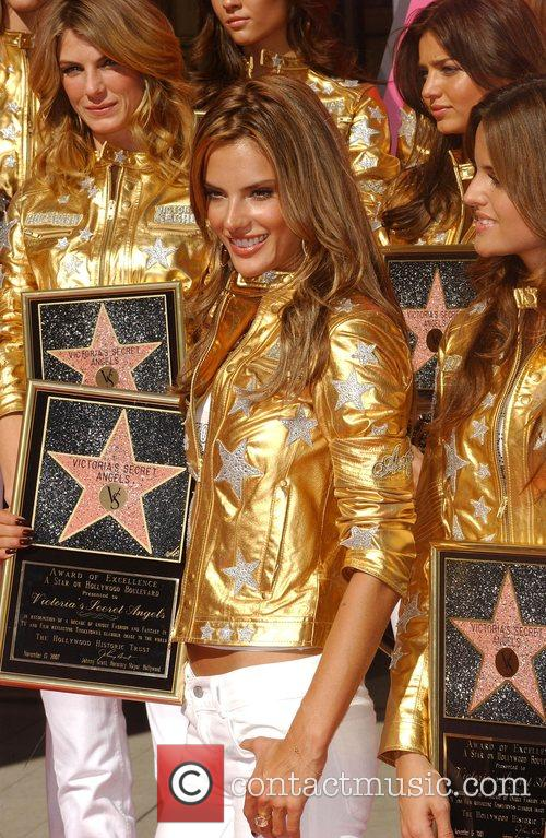 Victoria's Secret Angels presented with Award of Excellence...