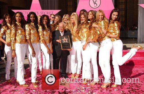 Heidi Klum, Adriana Lima, Jessica White, Victorias Secret, Star On The Hollywood Walk Of Fame