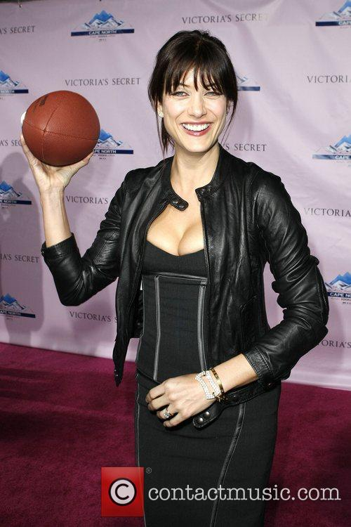 Victoria's Secret Super Bowl Party Angels Karolona Kurkova,...