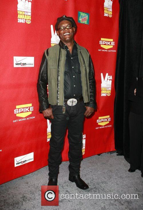 Samuel L Jackson Spike TV Video Game Awards...
