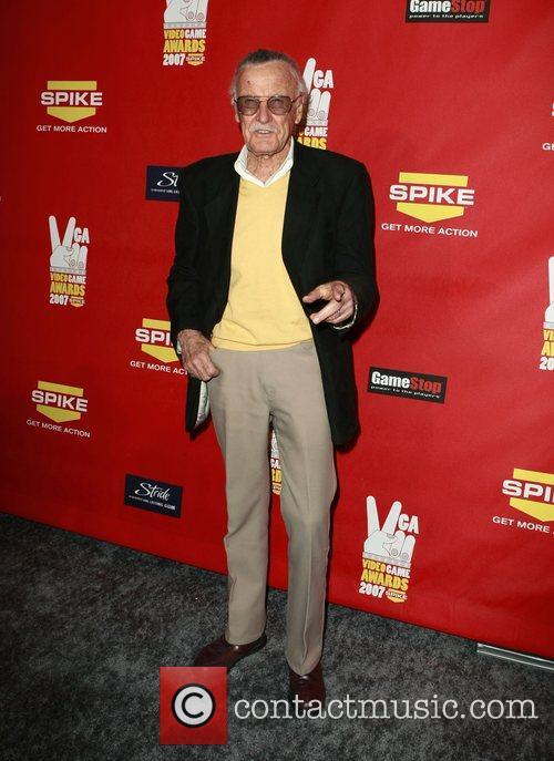 Stan Lee Spike TV Video Game Awards held...