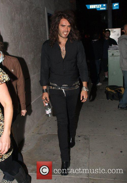 Arriving at Villa Lounge in West Hollywood