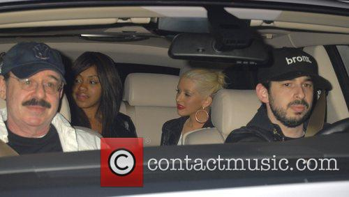 Christina Aguilera and Jordan Bratman 3