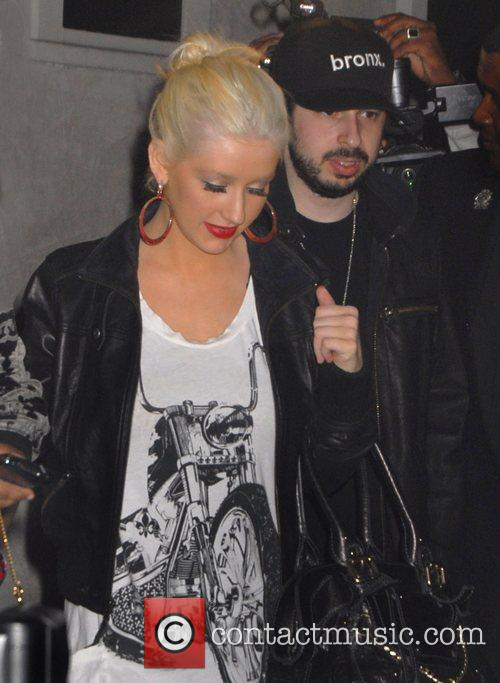 Christina Aguilera and Jordan Bratman 5