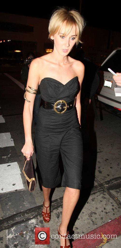 Kimberly Stewart at the Villa Lounge Los Angeles,...