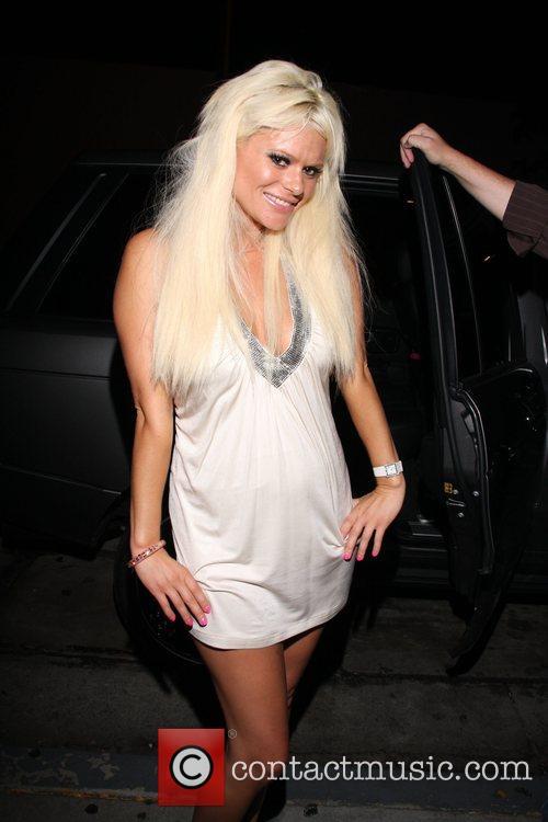Cecille Gahr leaving Villa Lounge