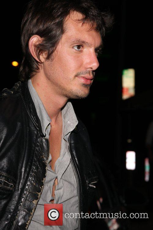 Lukas Haas arriving at Villa Lounge West Hollywood,...