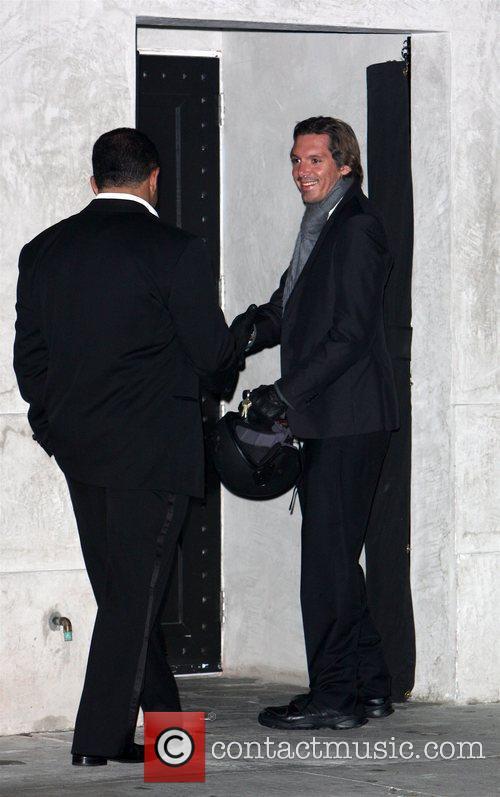 Lukas Haas leaving the Villa Lounge Nightclub in...