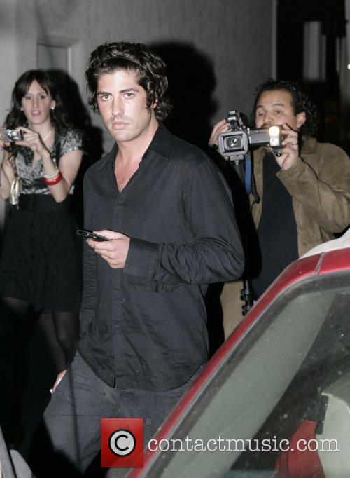 Leaving Villa Lounge in West Hollywood