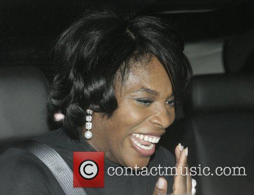 Serena Williams leaving Villa Lounge in West Hollywood...