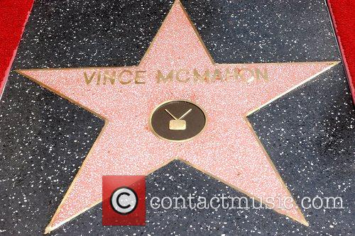 Atmosphere Vince McMahon honoured with the 2357th Star...