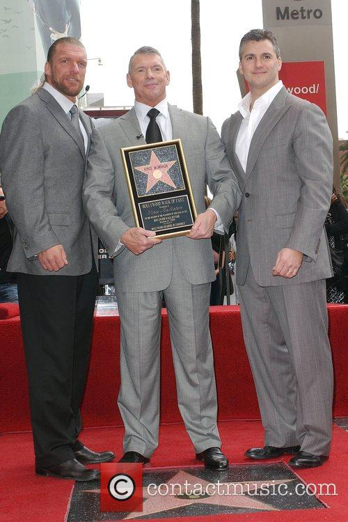 Paul Levesque, Star On The Hollywood Walk Of Fame and Walk Of Fame 3