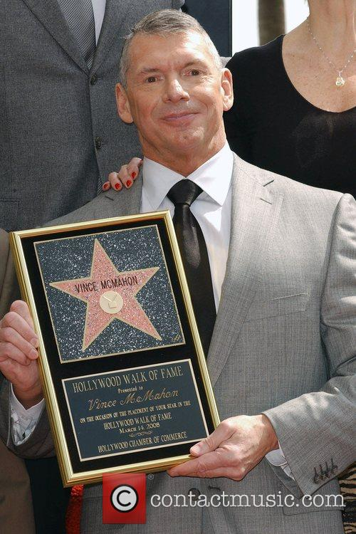 Vince Mcmahon, Star On The Hollywood Walk Of Fame and Walk Of Fame 3