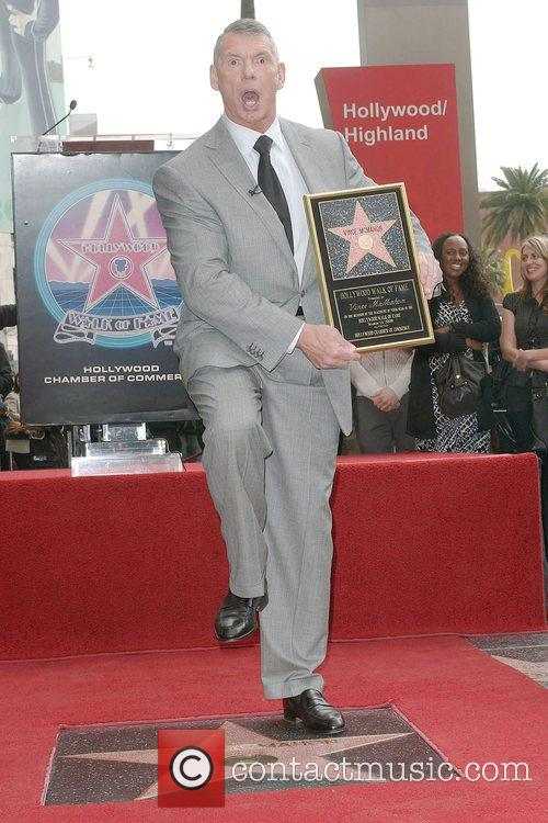 Vince Mcmahon, Star On The Hollywood Walk Of Fame and Walk Of Fame 1