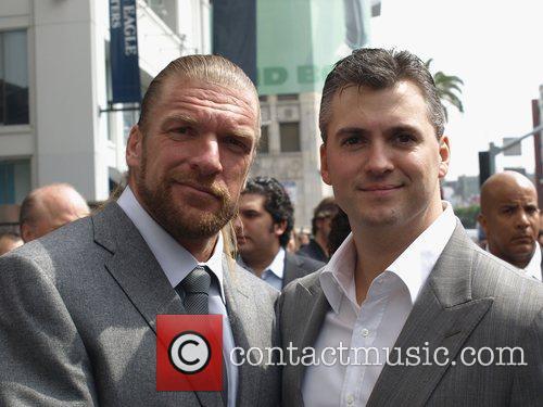 Triple H and Shane McMahon Vince McMahon honoured...