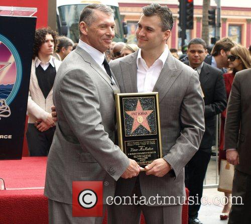 Vince Mcmahon, Shane Mcmahon, Star On The Hollywood Walk Of Fame and Walk Of Fame 10