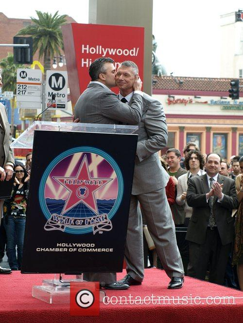 Vince Mcmahon, Shane Mcmahon, Star On The Hollywood Walk Of Fame and Walk Of Fame 9
