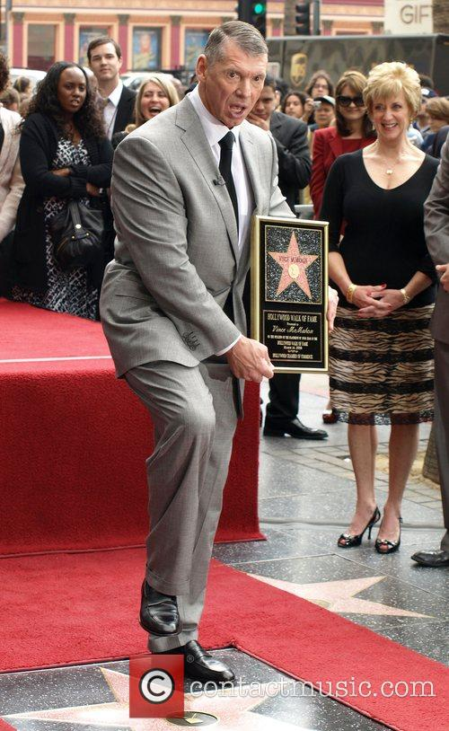 Vince McMahon honoured with the 2357th Star on...