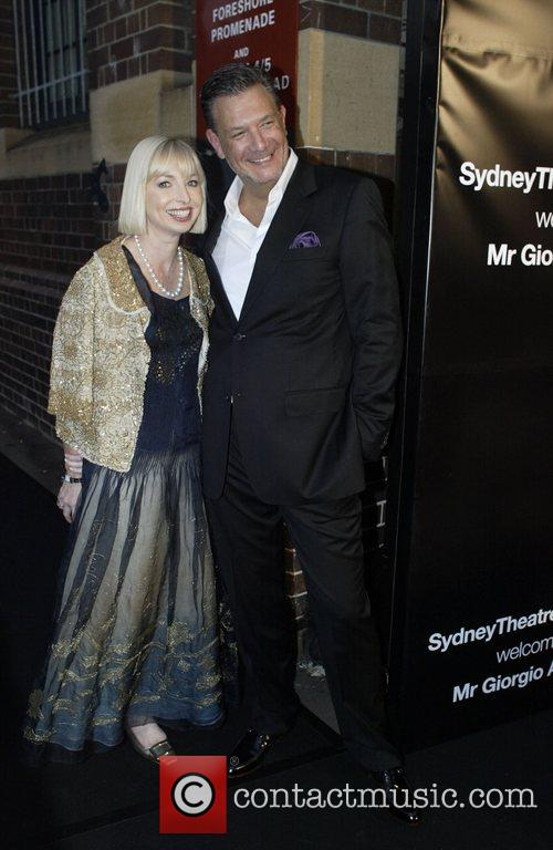 Collette Garnsey and guest The Sydney Theatre Company...