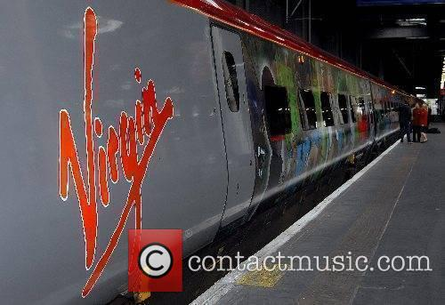 The launch of a new Virgin train designed...