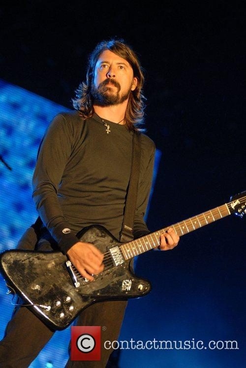 Dave Grohl of Foo Fighters V Festival 2007...