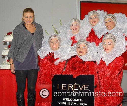 Carmen Electra Virgin America celebrates the launch of...