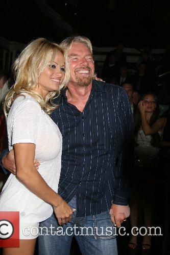 Pamela Anderson, Las Vegas and Richard Branson 4