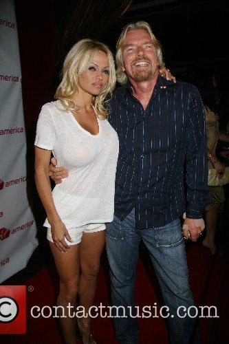 Pamela Anderson, Las Vegas and Richard Branson 3