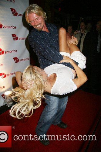 Pamela Anderson, Las Vegas and Richard Branson 2