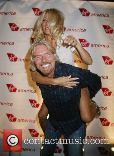 Pamela Anderson, Las Vegas and Richard Branson 9