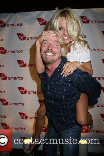 Pamela Anderson, Las Vegas and Richard Branson 8