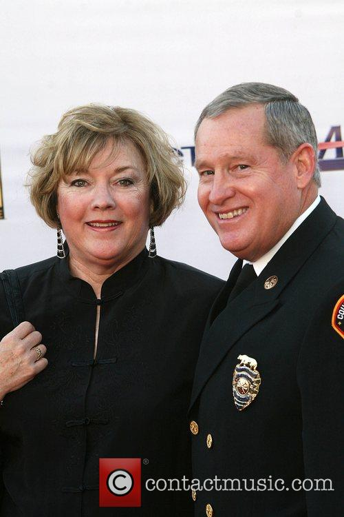 Chief Michael Freeman with his wife The '2008...