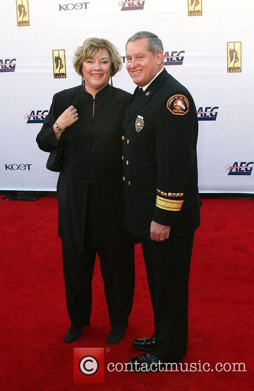 Chief Michael Freeman with wife The '2008 KCET...